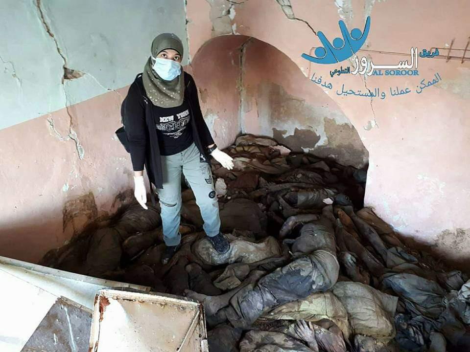 رفع جثث في الموصل