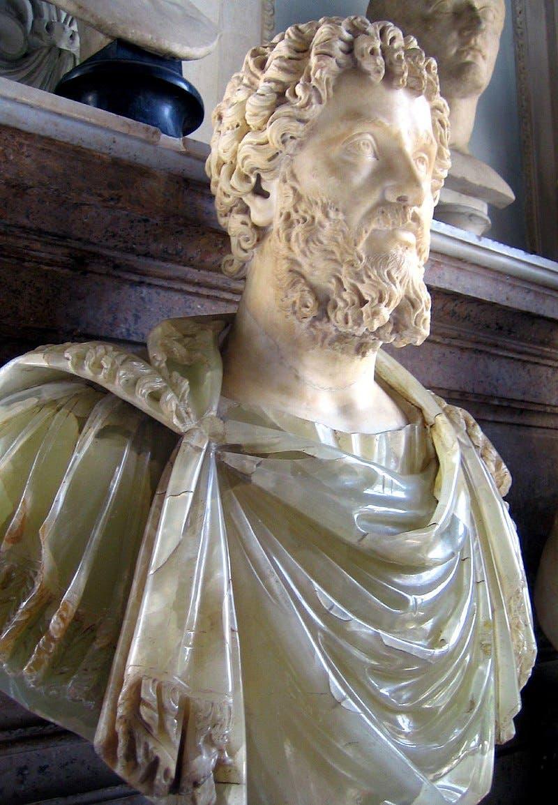 تمثال نصفي لسيبتيموس سيفيروس