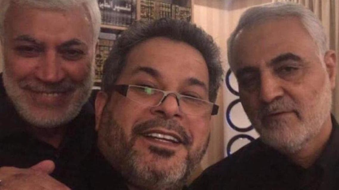 Qasim salmani  suspicious visit of  Iraq