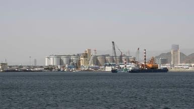 شاهد.. حركة العمل في ميناء الفجيرة تسير بشكل طبيعي