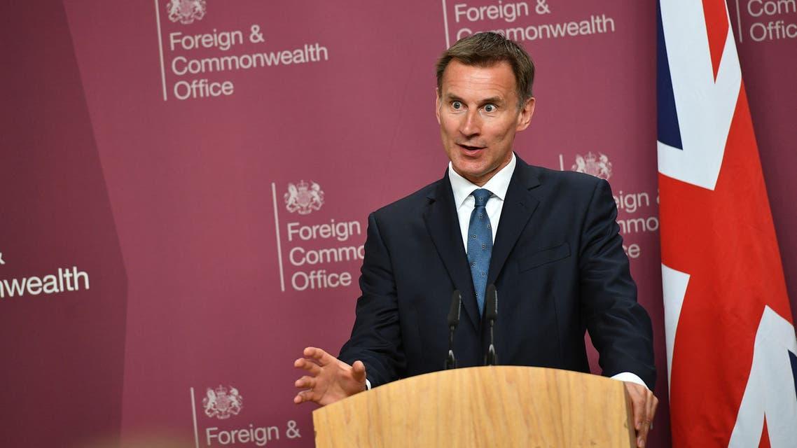 جيريمي هانت وزير الخارجية البريطاني