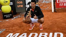 Delighted Djokovic wins third Madrid Open as Tsitsipas runs out of steam