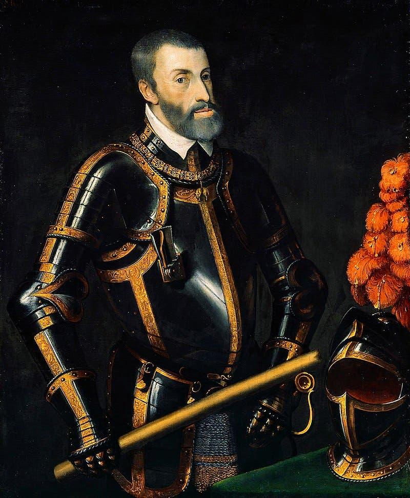 صورة للملك الإسباني شارلكان