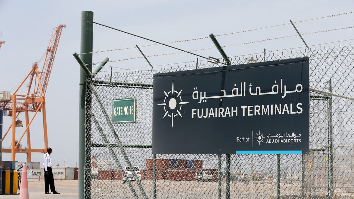 ميناء الفجيرة (رويترز- 13 مايو 2019)