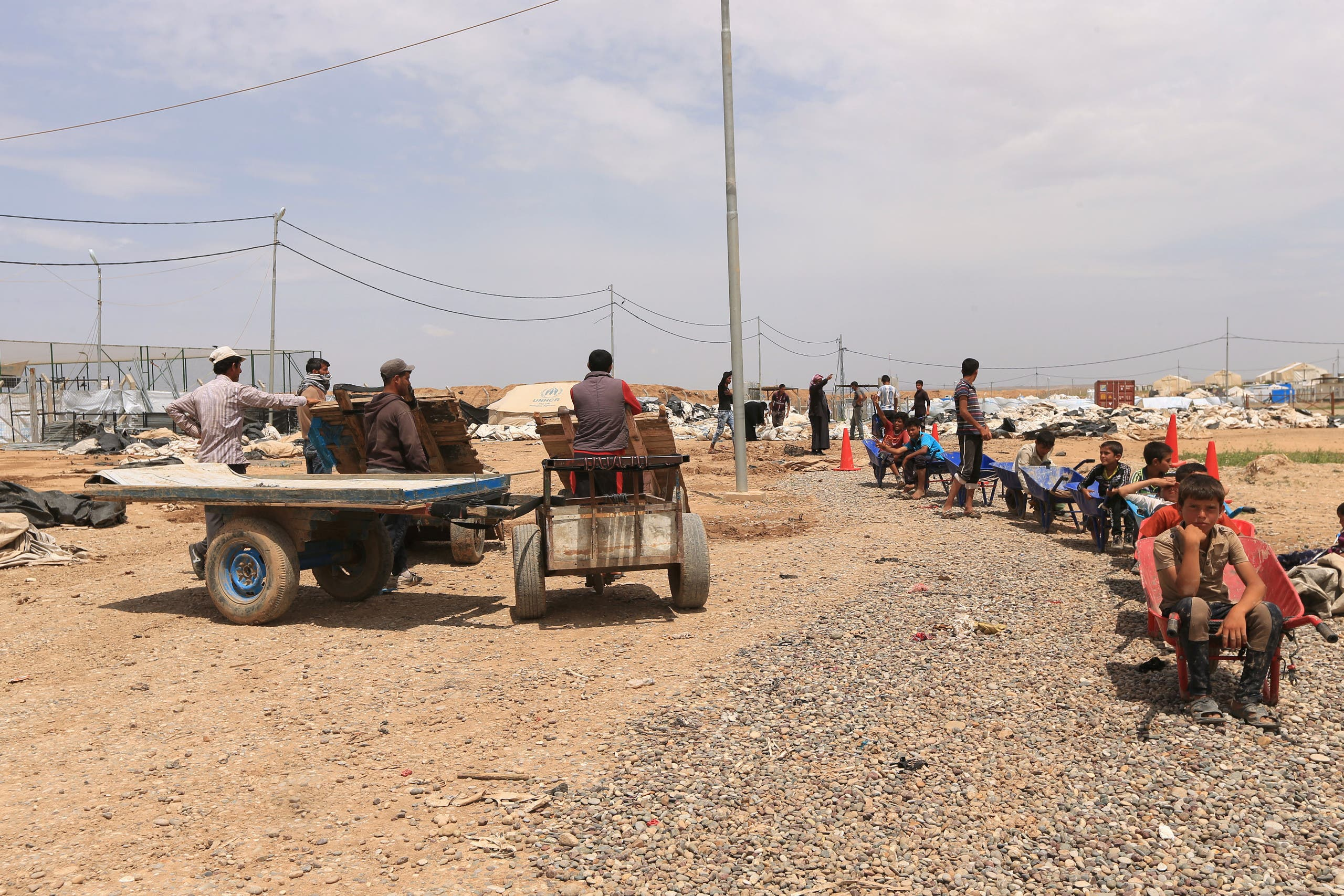مخيمات الموصل (ارشيف)