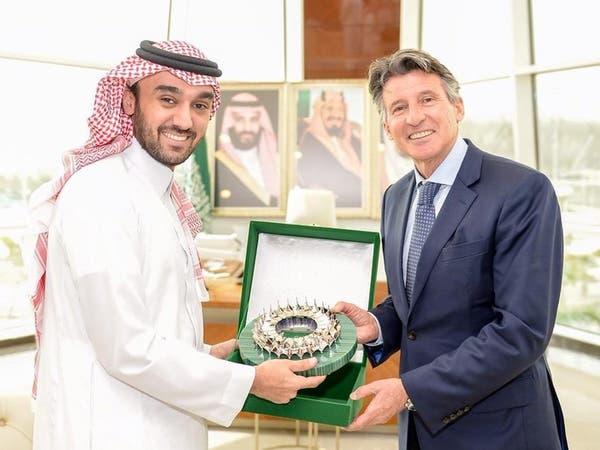 عبدالعزيز الفيصل يستقبل رئيس الاتحاد الدولي لألعاب القوى