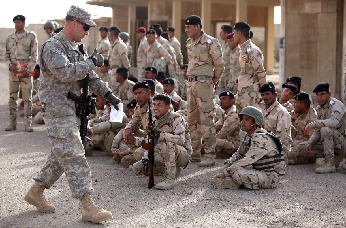 """عناصر من القوات الأميركية بالعراق """"أرشيفية"""""""