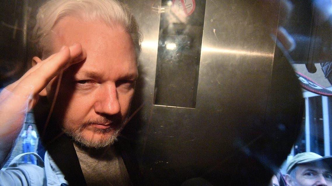 Assange. (AFP)