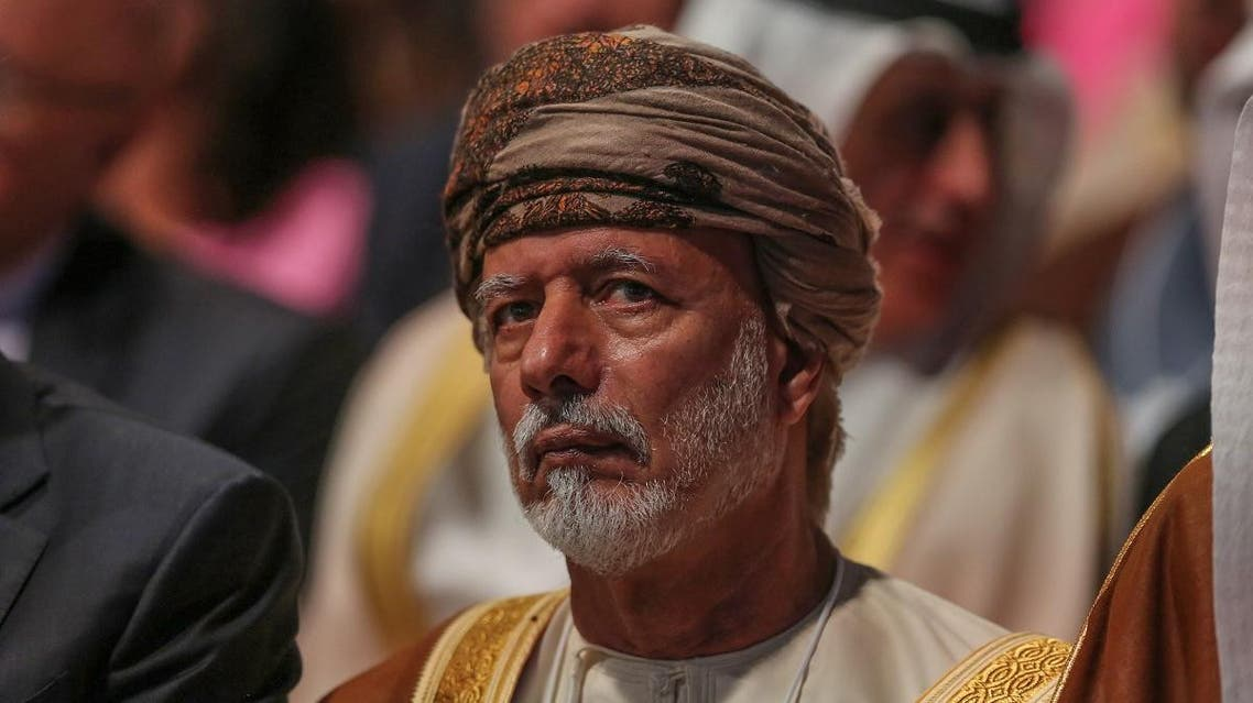 Oman's Foreign Minister Yusuf bin Alawi bin Abdullah. (AFP)