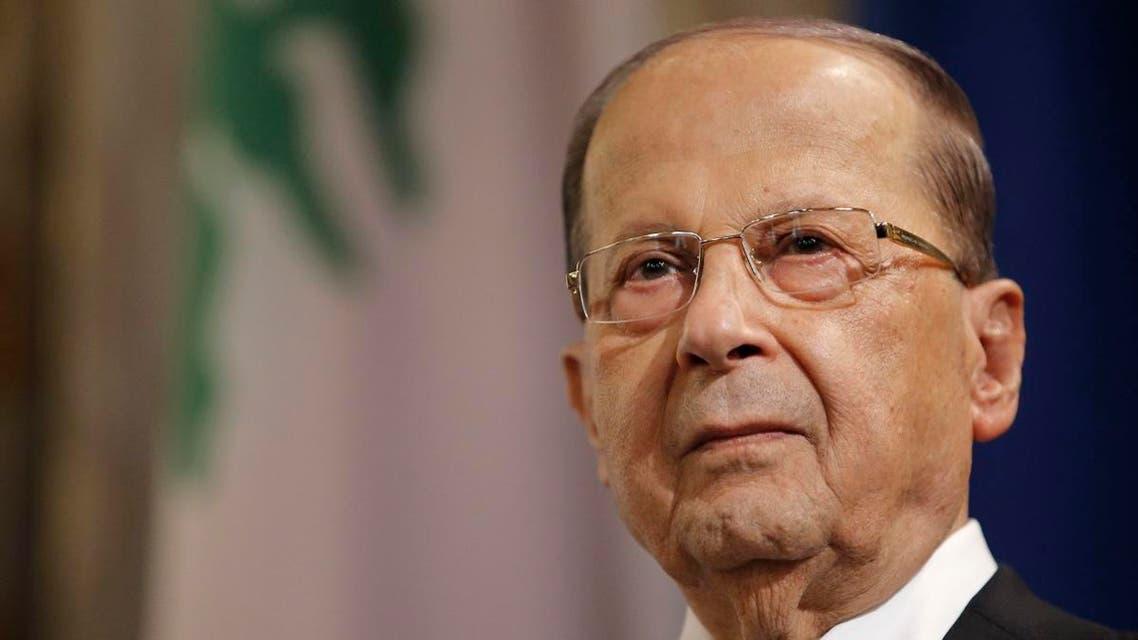 Lebanon's President Michel Aoun. (AFP)