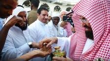 شیخ عبدالرحمن السدیس کی حجر اسود کو خوشبو لگانے اور حطیم کی دھلائی کے عمل میں شرکت