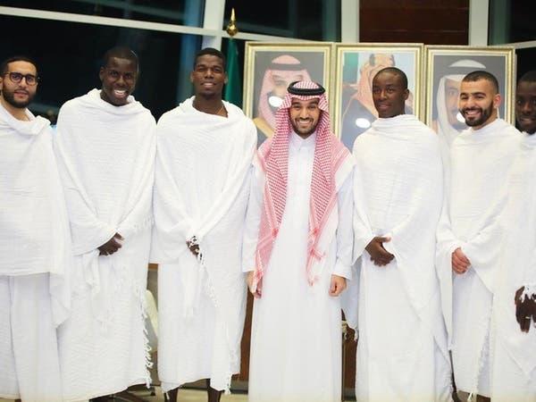 عبدالعزيز بن تركي الفيصل يلتقي الفرنسي بوغبا