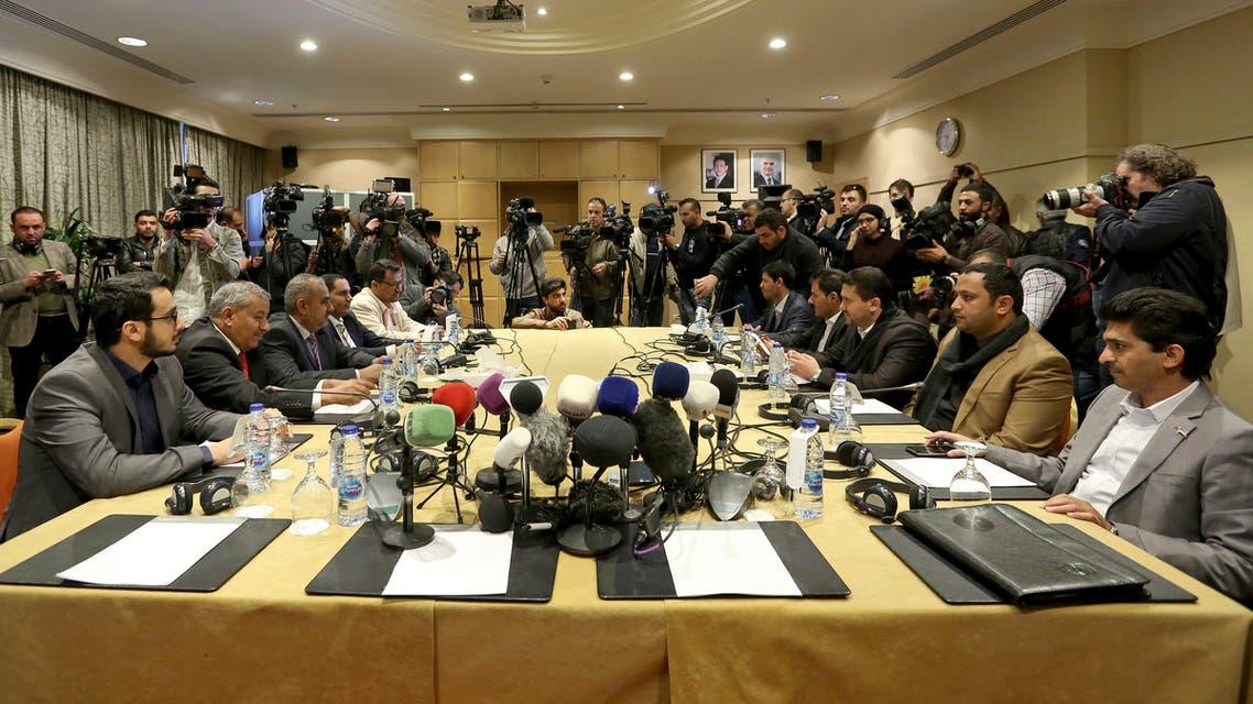 الشرعية الحوثي الأردن