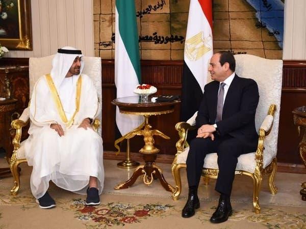السيسي ومحمد بن زايد: أي استهداف للسعودية يستهدف أمن العالم