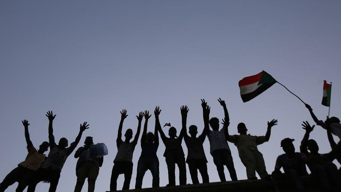 Sudan protesters afp