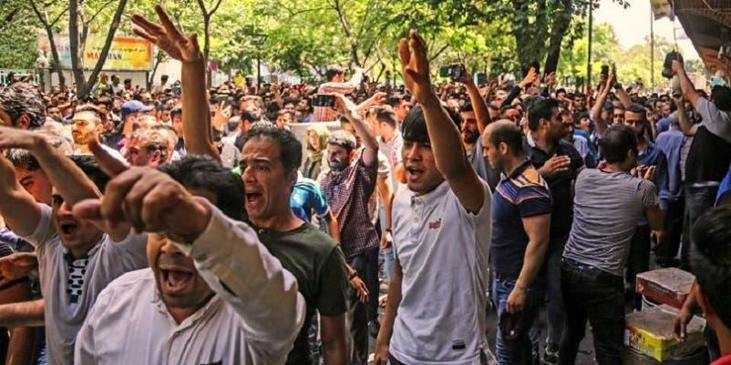 الاحتجاجات في غلاسكو نسخة عن احتجاجات طهران