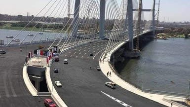 """صور.. مصر تدخل"""" غينيس"""" بأعرض جسر معلق في العالم"""