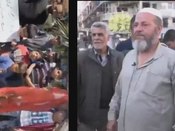 فيديو.. مسن سوري غاضب يحرق علم تركيا ويعتذر تحت التهديد