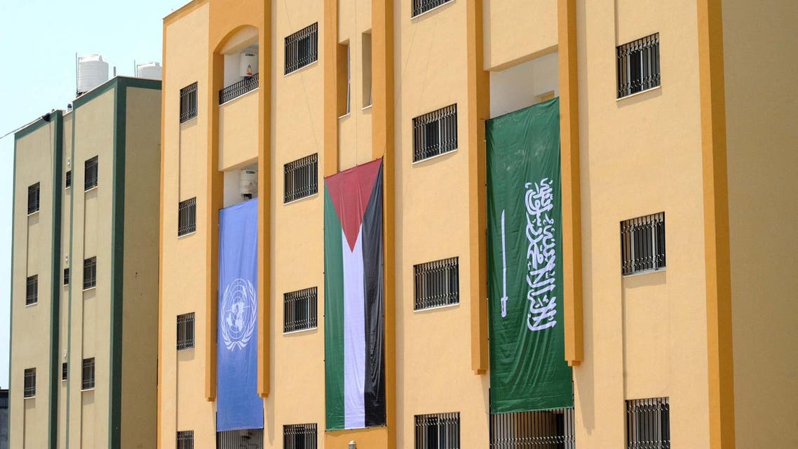 This is one of many initiatives taken by Saudi Arabia in support of the Palestinian people. (Photo courtesy: UNDP)