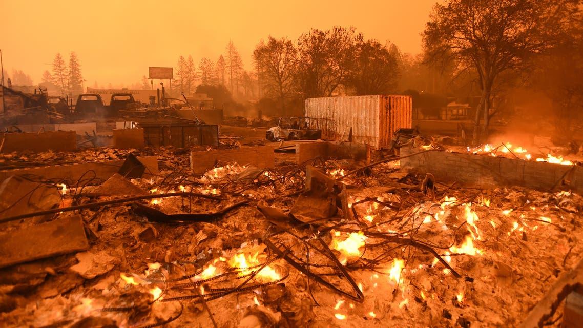 كاليفورنيا حريق