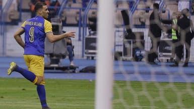 حمدالله يكسر رقم حمزة ويتربع على عرش هدافي الدوري السعودي