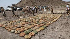 Saudi project clears 1,024 Houthi mines, explosive devices in Yemen