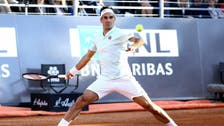 Leg injury forces Federer out of Rome quarters