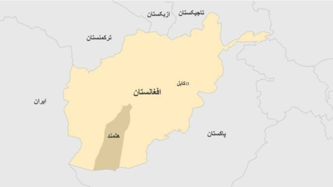 Helmand on the map