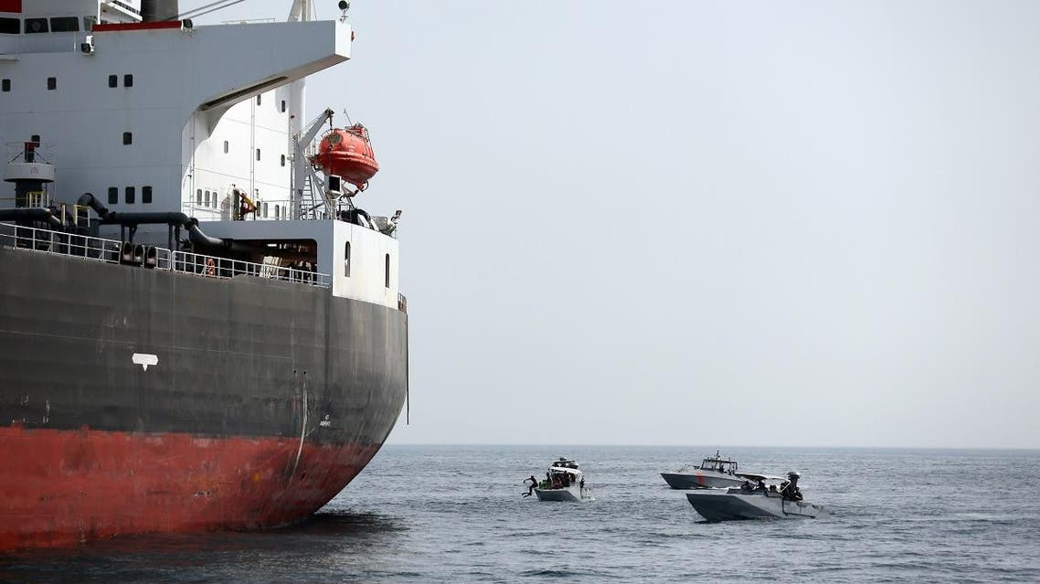 Insurer says Iran's Guards likely to have organized tanker attacks. (Reuters)