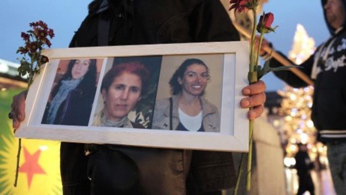 الناشطات الكرديات الثلاث اللواتي اغتلن في باريس عام 2013