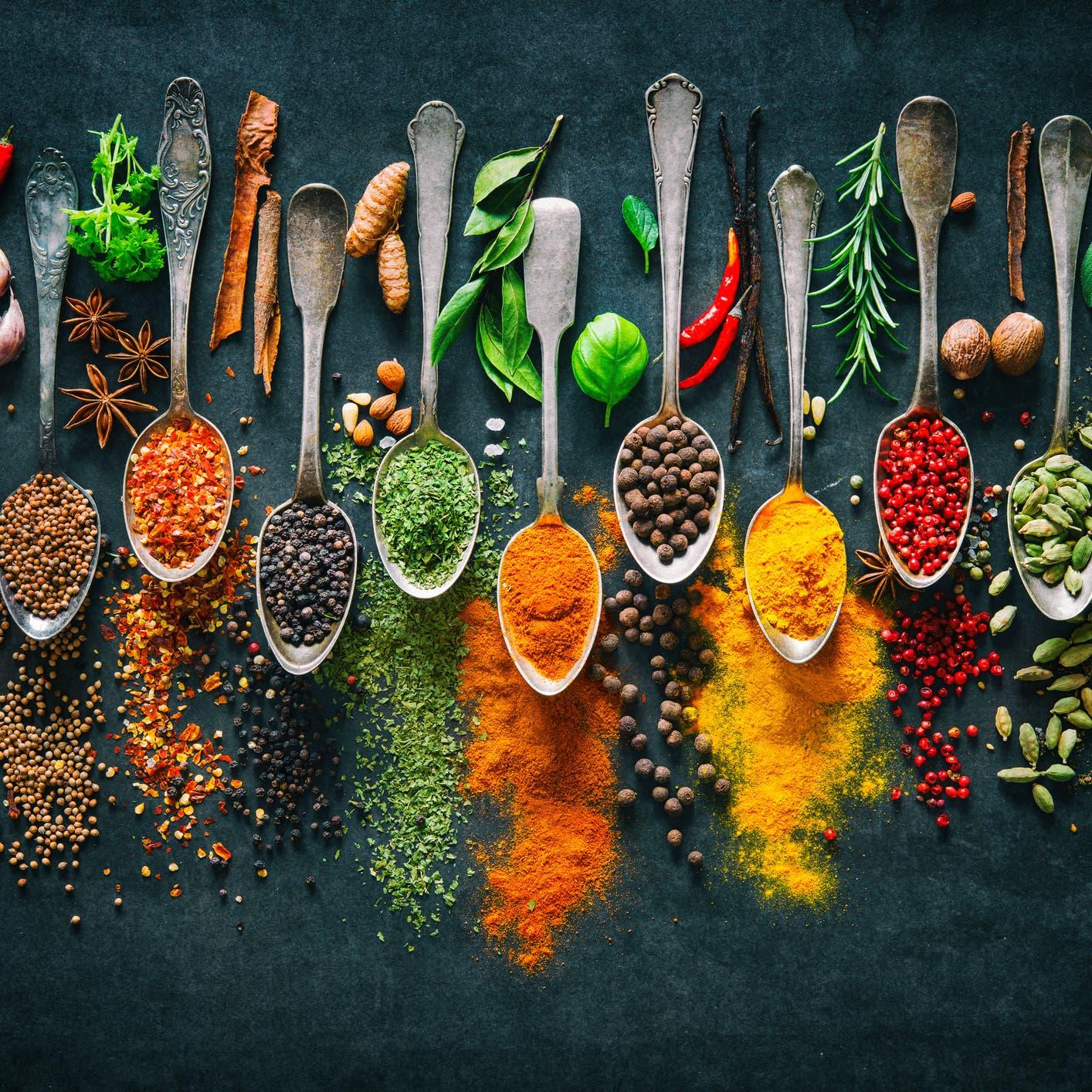لصحة جيدة ووزن مثالي في زمن الجائحة .. 5 توابل هندية