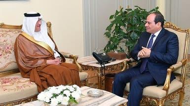 السيسي: ننسق مع السعودية لمواجهة التهديدات الإقليمية