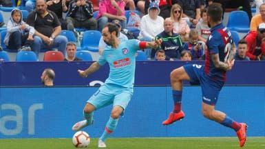 أتلتيكو مدريد يتعادل مع ليفانتي في ختام الدوري الإسباني