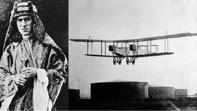 """يوم انتشلوا """"لورنس العرب"""" من طائرة سقطت به منذ 100 عام"""