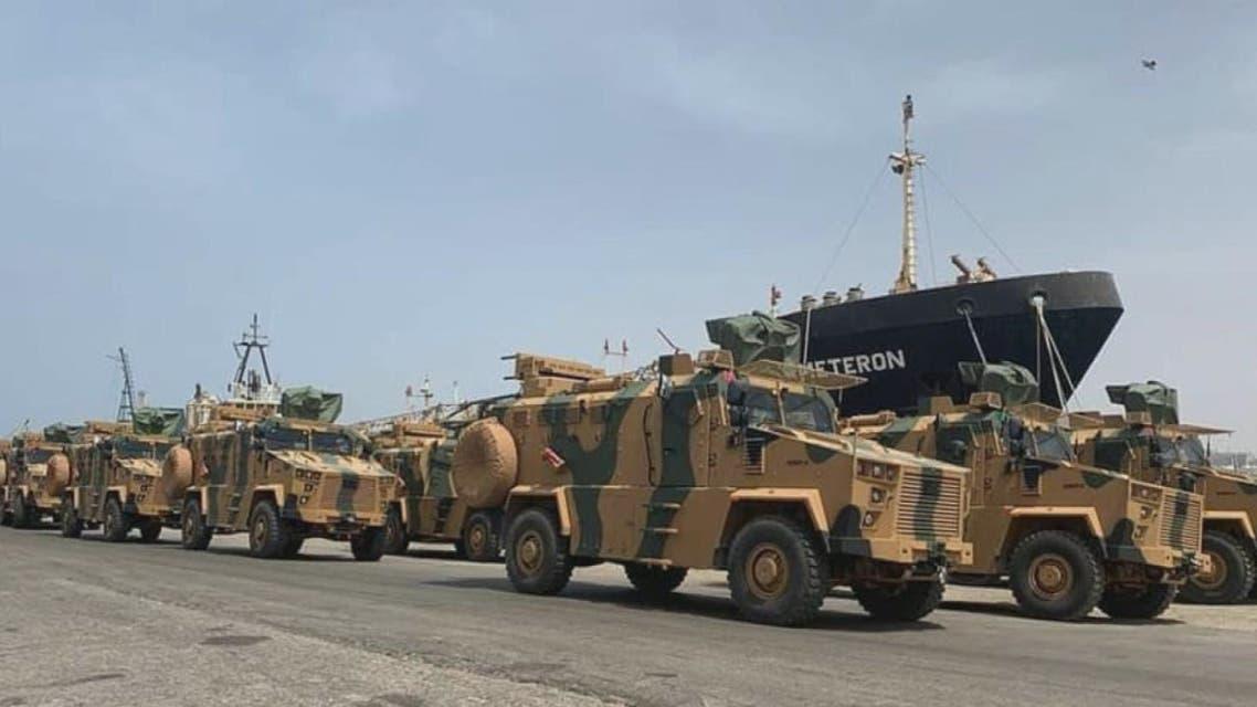 في وضح النهار.. أسلحة تركية تصل طرابلس