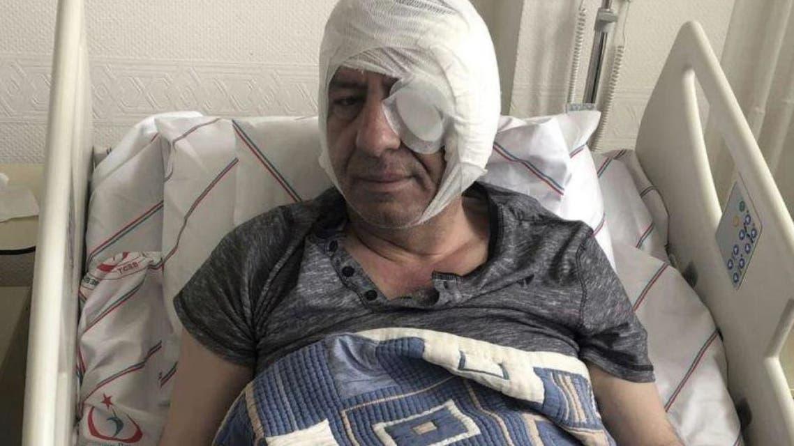الصحافي التركي تعرض لاعتداء بالهراوات