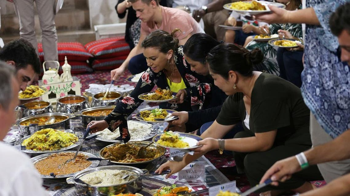 Ramadan, at the Sheikh Mohammed Centre for Cultural Understanding (SMCCU) in Dubai, UAE May 17, 2019. (Reuters)