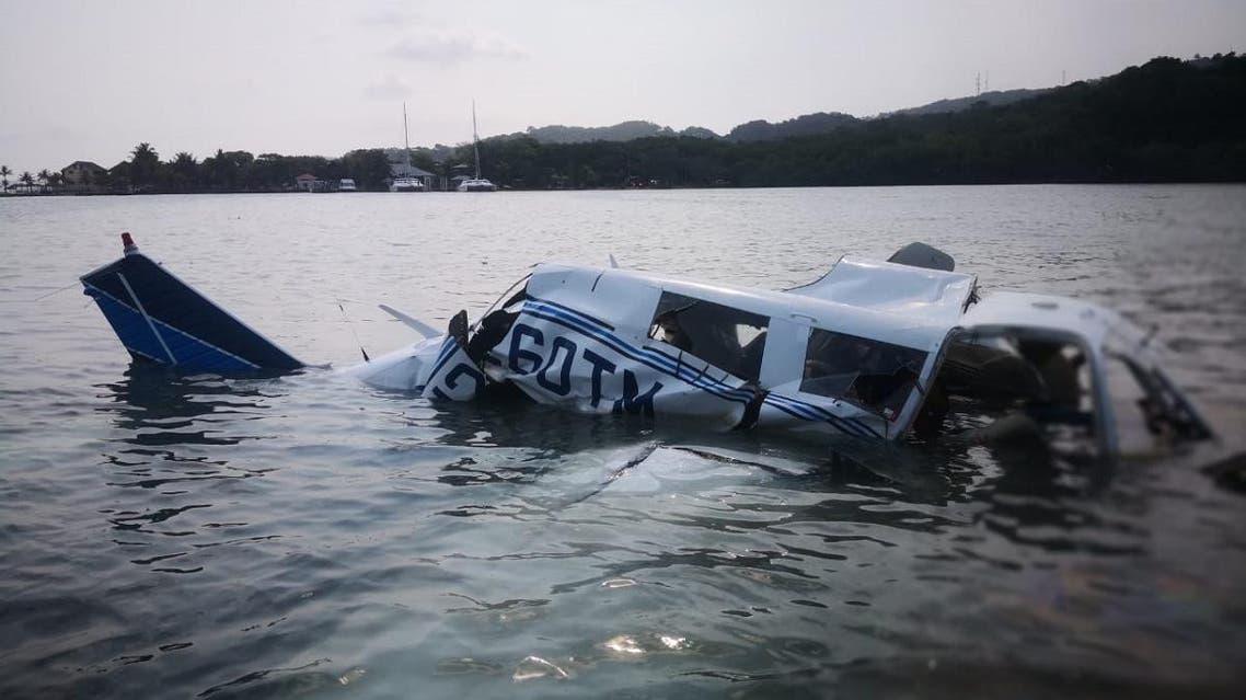 Honduras plane crash. (AFP)
