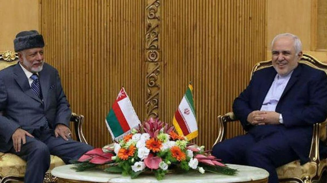 Iranian Foreign Minister Mohammad Javad Zarif Omani Minister of Foreign Affairs Yussef bin Alawi bin Abdulla. (File photo: AFP)