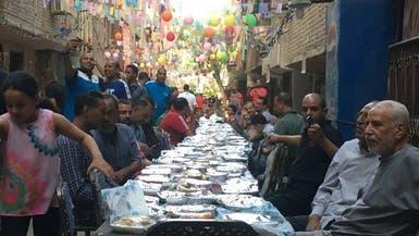 ليست مائدة رحمن بل فكرة ملهمة لسكان منطقة مصرية