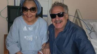 بالصور.. سهير البابلي في المستشفى