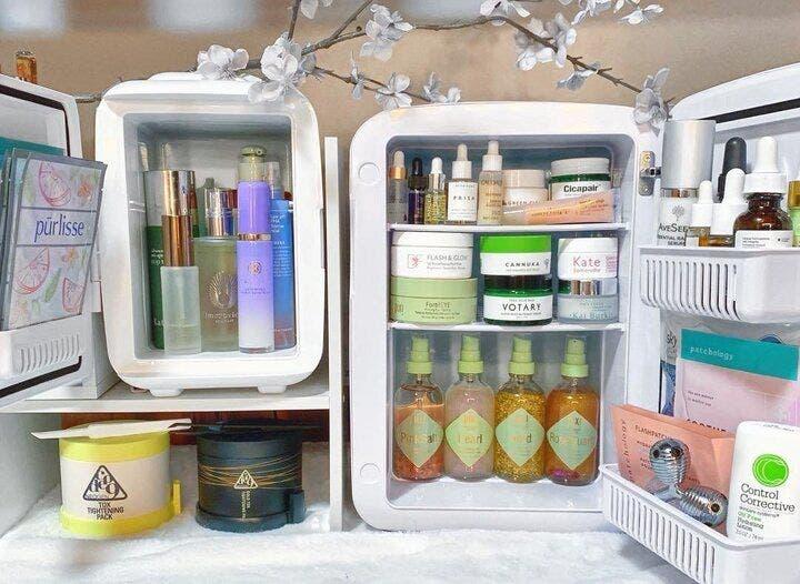 أبرز المستحضرات التي يُنصح بالاحتفاظ بها في الثلاجة