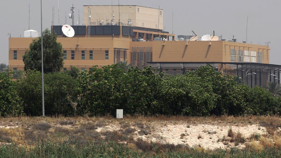 السفارة الأميركية في المنطقة الخضراء في بغداد