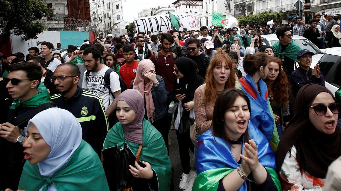 احتجاجات طلاب الجزائر