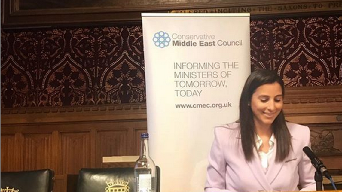 "Ekmekji uses social media to promote the inclusion of more women in diplomacy under the hashtag ""diplowomen."" (Instagram)"