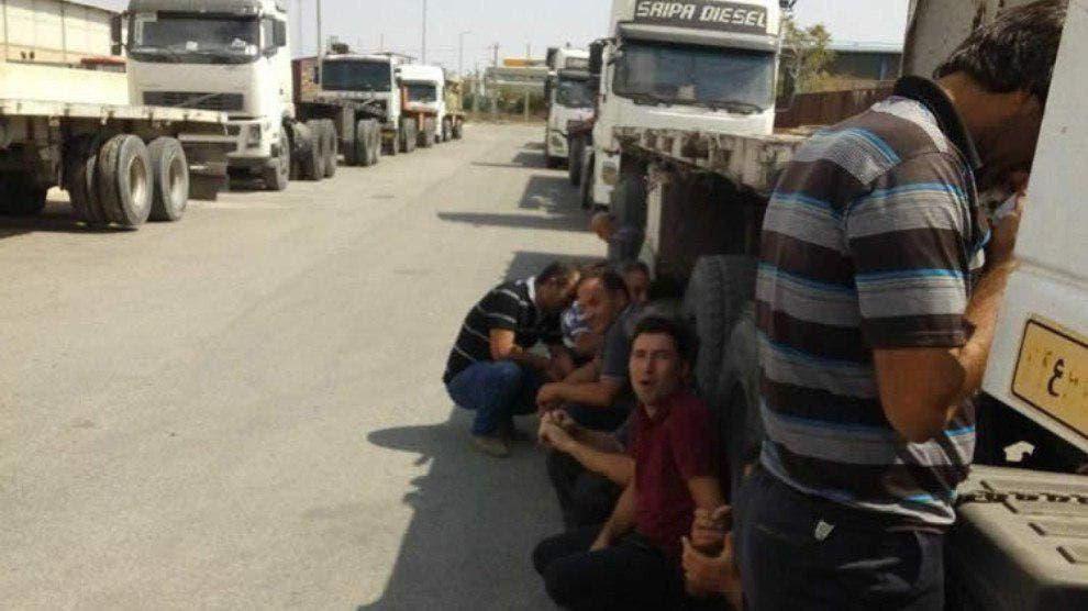 سائقو الشاحنات في كردستان