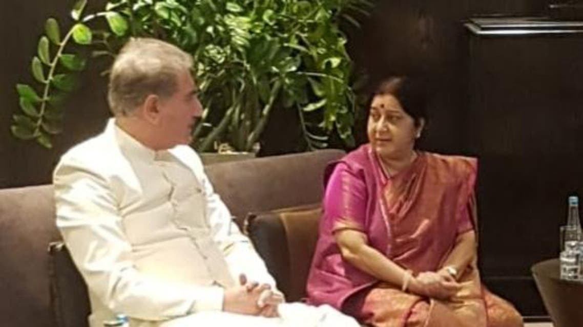Shah Mehmood Qureshi and Indian Foreign Minister