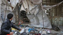 Air raids kill 12 civilians in a market in Syria's Idlib, says a monitor group