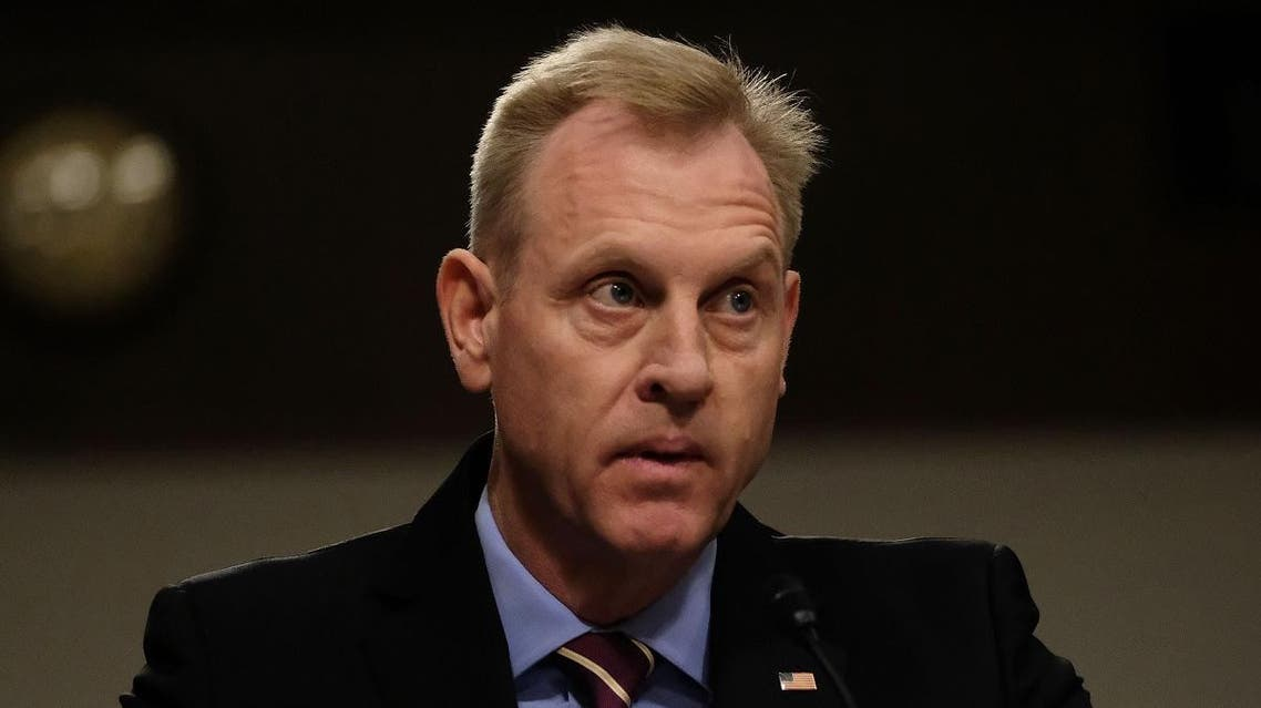 Patrick M. Shanahan, Acting U.S. Secretary of Defense, listens during a Senate Armed Services Committee hearing in Washington, DC. (AFP)