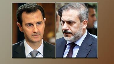 مفاجأة.. من التقى الأسد عندما زار طهران؟
